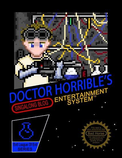 NINTENDO: NES DOCTOR HORRIBLE  by Joshua Holt