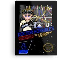 NINTENDO: NES DOCTOR HORRIBLE  Metal Print