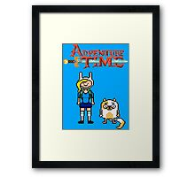 ADVENTURE TIME WITH FIONNA AND CAKE  Framed Print