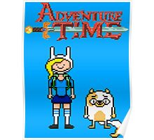 ADVENTURE TIME WITH FIONNA AND CAKE  Poster