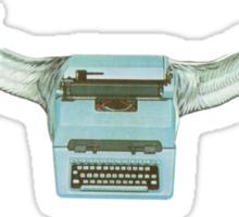 M Blackwell - Typeflyer... Sticker