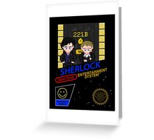 NINTENDO: NES SHERLOCK Greeting Card