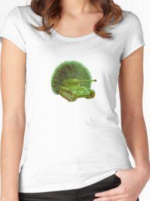 M Blackwell - PeaTank... Women's Fitted Scoop T-Shirt