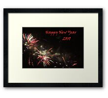 Happy New Year 2009 Framed Print