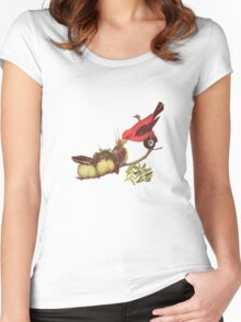 M Blackwell - Evolution... Women's Fitted Scoop T-Shirt