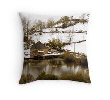 Lago del Valle (Somiedo) Throw Pillow