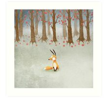 What I Know About White Socks No.2 This is White Socks. Art Print