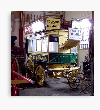 Horse Drawn Bus Canvas Print