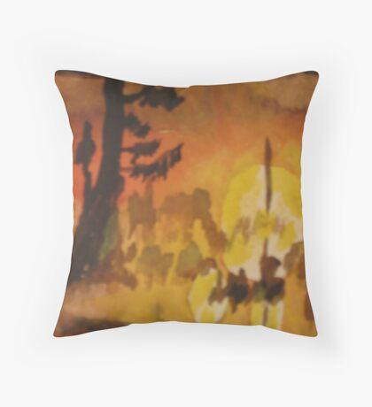 Cajun Sunrise  Throw Pillow