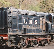 LMS Diesel Shunter. by Edward Denyer