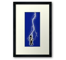 With One Magic Word... Framed Print