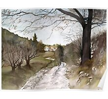Winter Light in Provence Poster