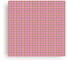 SneuvelNation - Borberry Pink/Red/Green Canvas Print
