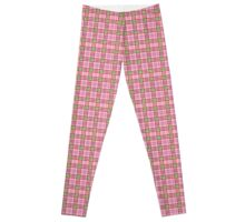 SneuvelNation - Borberry Pink/Red/Green Leggings