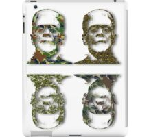 Well Camouflaged Monster iPad Case/Skin