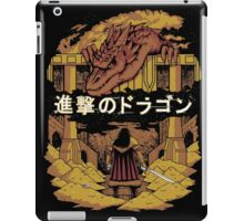 Attack on Dragon  iPad Case/Skin