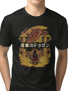 Attack on Dragon  Tri-blend T-Shirt