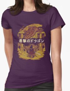 Attack on Dragon  Womens Fitted T-Shirt