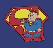 Peter Griffin as Superman by myartdesign