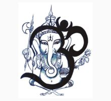 OM Ganesha Small by whittyart