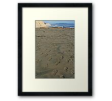 Well Traveled Framed Print
