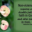 Faith and Non-violence by lensbaby