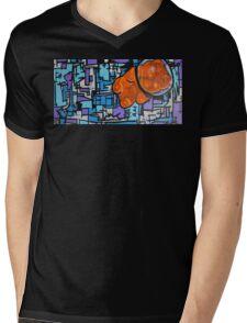Astronaut Gummy Bear Mens V-Neck T-Shirt