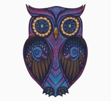 Ornate Owl 9 Kids Clothes