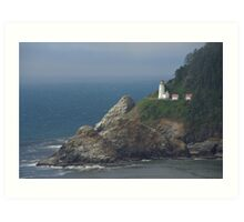 Heceta Head Lighthouse, Oregon Art Print