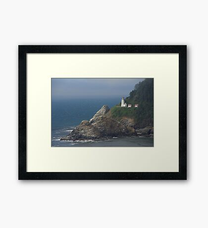 Heceta Head Lighthouse, Oregon Framed Print