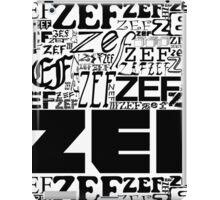 ZEFZEFZEF iPad Case/Skin