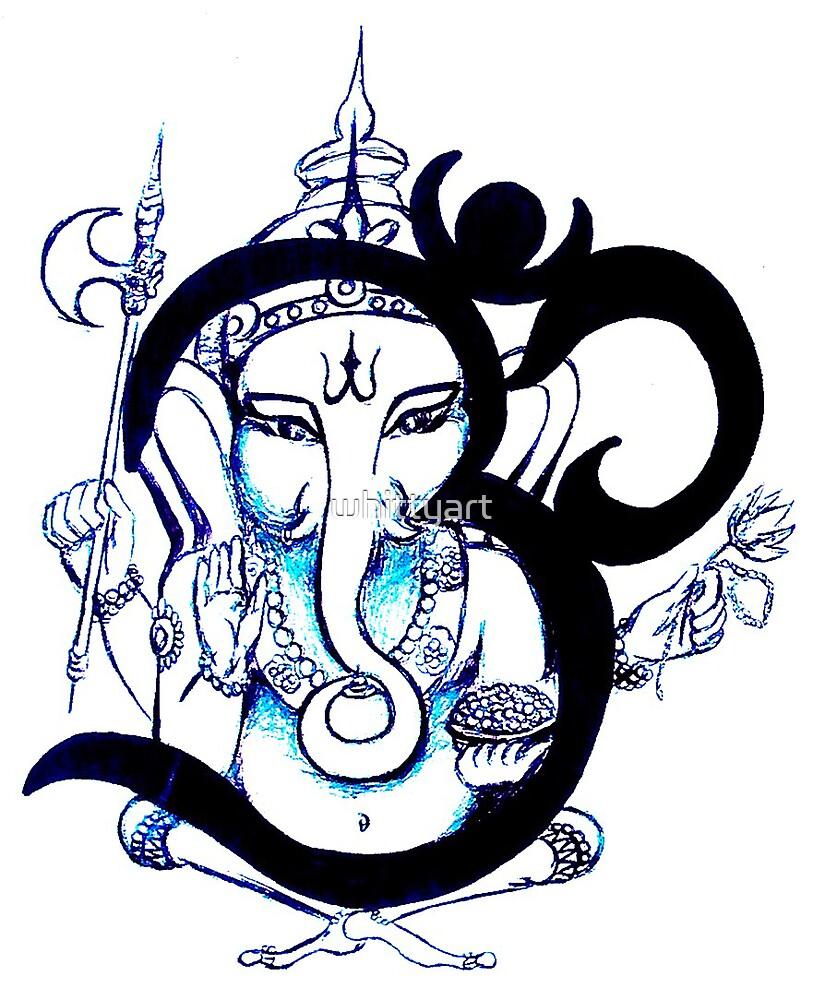 OM  Ganesha by whittyart