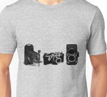3 cameras Unisex T-Shirt