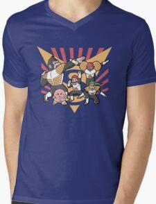 Smash Force Mens V-Neck T-Shirt
