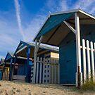 Beach Hut Series 4 by Amanda White