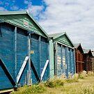 Beach Hut Series 6 by Amanda White