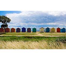 Beach Huts Series 7 Photographic Print