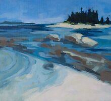 Wheat Island I by Anita Dore