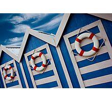 Beach Hut Series 13 Photographic Print