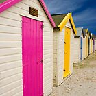 Beach Hut Series 17 by Amanda White