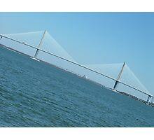 Ravenel bridge Photographic Print
