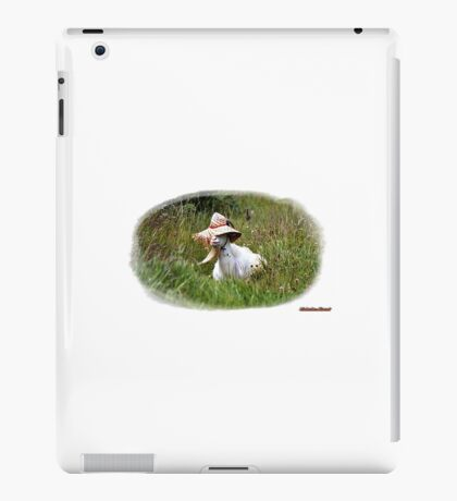 Thought this chap looked amusing iPad Case/Skin