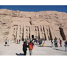 Abu Simbel Photographic Print