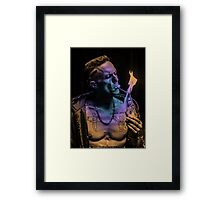 Zef Cash Money Framed Print
