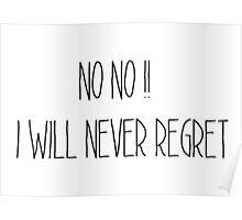 Regret Poster