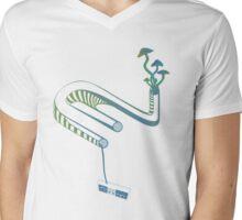 Drug References Mens V-Neck T-Shirt