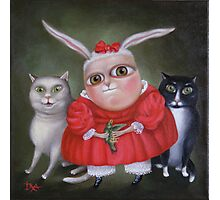 "Family Portrait  12"" x 12"" x 1""  Original Painting - Sold Photographic Print"