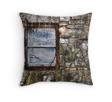 Abandoned Christmas Throw Pillow