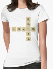 Great lover... Womens Fitted T-Shirt