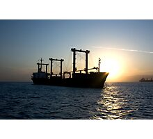 Ship Photographic Print